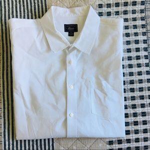 mens G.H. Bass & Co. white button down shirt